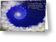 Stairway To Heaven Greeting Card by Methune Hively