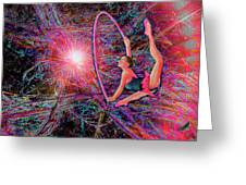 Star Dancer Greeting Card by Michael Durst