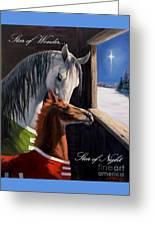 Star Of Wonder Greeting Card by Jeanne Newton Schoborg