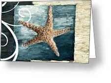 Starfish Spell Greeting Card by Lourry Legarde