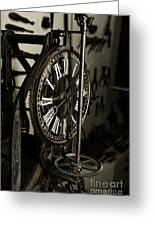 Steampunk - Timekeeper Greeting Card by Paul Ward