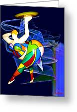 Steppin Out Greeting Card by Michael Durst