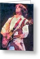 Steve Miller 1978 Greeting Card by Russ Harris