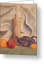 Still Life 1961 Greeting Card by Fred Jinkins