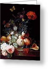 Still Life  Greeting Card by Johann Amandus Winck