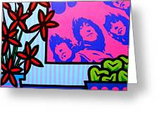 Still Life With The Beatles Greeting Card by John  Nolan