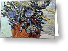Still Life with Thistles Greeting Card by Vincent van Gogh