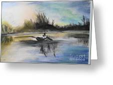 Still Moment Greeting Card by Janice Robertson