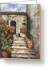 Stone Steps Greeting Card by Sam Sidders