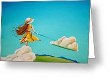 Storm Development Greeting Card by Cindy Thornton