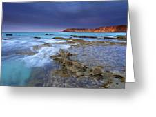 Storm Light Greeting Card by Mike  Dawson