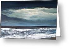 Storms Never Last Greeting Card by Ken Ahlering