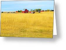 STORYBOOK FARM Greeting Card by Theresa Tahara