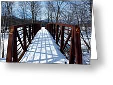 Stowe Vermont Bridge 8 Greeting Card by Dave Olsen