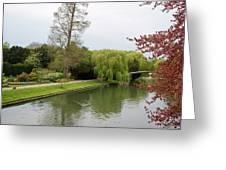 Stratford Upon Avon 1 Greeting Card by Douglas Barnett