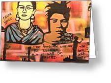 Street Art Lives Greeting Card by Tony B Conscious