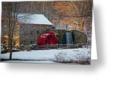 Sudbury Gristmill Greeting Card by Susan Cole Kelly