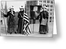Suffragettes, C1910 Greeting Card by Granger