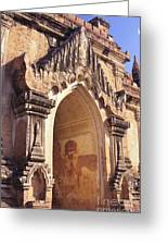 Sulamani Temple Greeting Card by Gloria & Richard Maschmeyer - Printscapes