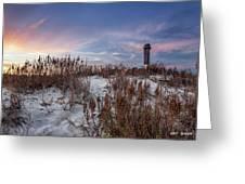 Sullivan's Island Landmark Greeting Card by Walt  Baker