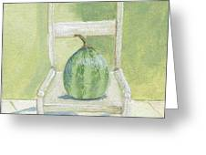 Summer Melon Greeting Card by Laurel Porter-Gaylord