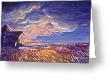 Summer Storm Greeting Card by Joanne Smoley
