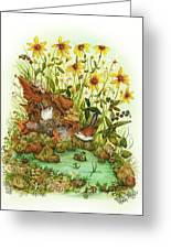 Summer Time Greeting Card by Donna Genovese