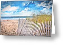 Summer Time Greeting Card by Gina Cormier
