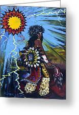 Sun Dancer Greeting Card by Karon Melillo DeVega