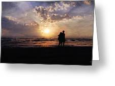 Sun Lovers Greeting Card by Peter Chilelli