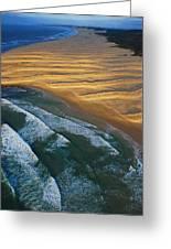 Sun Rise Coast  Greeting Card by Skip Hunt
