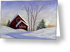 Sun Valley 1 Greeting Card by Shannon Grissom