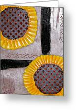 Sunflowers Greeting Card by Terry Honstead