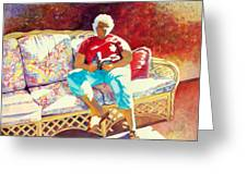 Sunny Retreat 3 Greeting Card by Kathy Braud