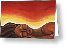 Sunrise Greeting Card by Tiffany Yancey