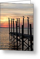 Sunset Bay 27 Greeting Card by Joyce StJames