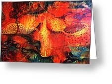 Sunset Mirage II Greeting Card by Lolita Bronzini