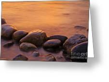 Sunset Greeting Card by Silke Magino