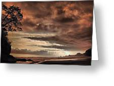 sunset Trip Greeting Card by Mario Bennet