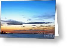 Sunshine Skyway Bridge Greeting Card by Skip Nall