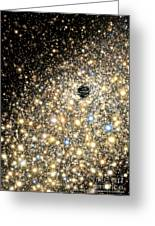 Supermassive Black Hole Greeting Card by Lynette Cook