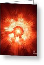 Supernova 2 Greeting Card by Stefan Kuhn