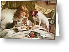 Suspense Greeting Card by Charles Burton
