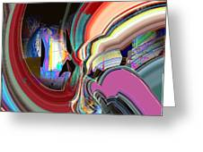 Swirl Greeting Card by Dave Kwinter