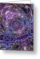 Swirling Greeting Card by Robert Ullmann