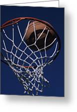 Swish.  A Basketball Greeting Card by Stacy Gold