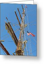 Tall Ship Series 8 Greeting Card by Scott Hovind