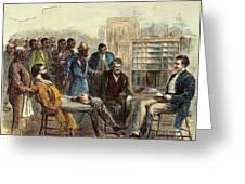 Tenn: Freedmens Bureau Greeting Card by Granger