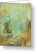 Terra Firma Abstract Greeting Card by Anahi DeCanio