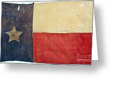 Texas Flag, 1842 Greeting Card by Granger